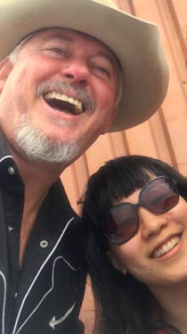 Jon Langford and Jean Cook