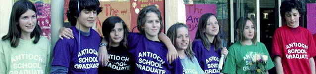 Antioch School Graduation Picture